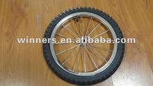 12.5 inch small rubber bicycle wheel/balance wheel