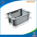 De plástico apilables contenedores vegetales/cajones/jaulas embalaje