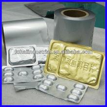 alu foil for pill blister packaging