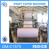 Hot Selling 1575mm Multi-Dryer Can and Double-Cylinder Mould Notebook Paper Machine