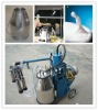Piston single barrel cow milking machine