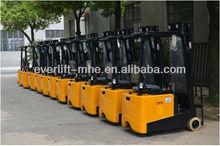Mini Electric Forklift truck three wheel battery forklift powered forklift truck
