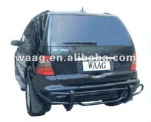 BZ39224-Black Rear Guard For Mercedes Benz ML350 W164 06-09