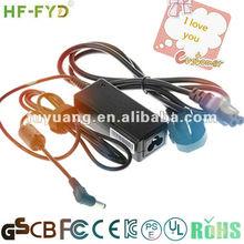 3A 12V universal adapter UL,SAA,CSA,BEAB,PSE,GS,CE,CB,FCC