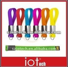 2GB Logo Silicone Lanyard USB Stick