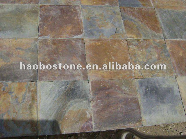 Pizarra oxidada pavimentaci n de piedra pizarra - Piedra pizarra oxidada ...