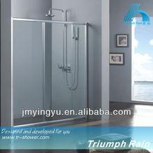 AOSC1802CL sliding simple shower enclosure for bathroom