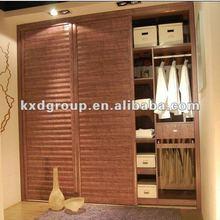 solid wood sliding door series wardrobe