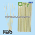 palillo de bambú natural