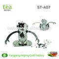Aço inoxidável 304 material de macaco forma Tea infuser