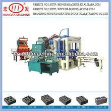 QT4-20C Vibrator Mode Paving and Interlocking Block Making Machine in China Phone:0086-13969983506
