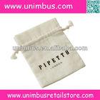natural unbleached organic cotton muslin drawstring bags