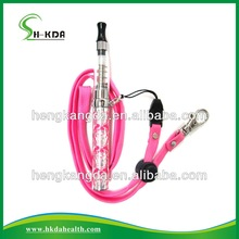 2014 colorful ego necklace easy carrying for electronic cigarette