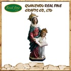 High qulaity resin religious figure, virgin mary statue for decoration
