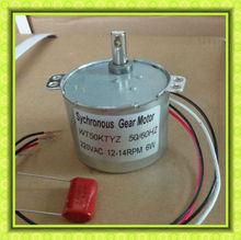 24v 120v 230v 1rpm AC 50TYZ synchronous motor