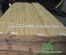 Fancy , Crown Cut Burma Teak wood Veneer , Teak Veneer For Antique Furniture