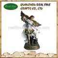 Hot vente 2014 résine ange statue, résine arcangel pour décoration de noël