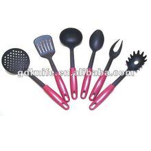 High quality 6pcs Nylon kitchen tools,kitchen utensils