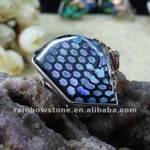 2012 newest ring crystal gemstone ring christmas ring