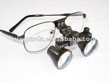 Ultra-light Galilean surgical/jewelry 2.5X magnifier/Diamond loupes