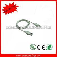 1.5M white USB printer cable usb am/bm printer cable to usb