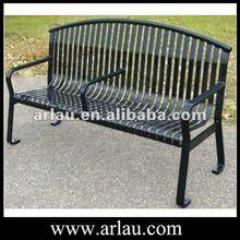 (FS23-1) Outdoor Park Metal Steel Long Bench