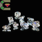 elegance shining artificial white clear cz cubic zirconia loose gems for jewelry