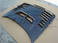 Auto Parts Engine Hood Carbon Fibre Bonnet with Vents for Subaru Impreza 1996-1999 Cars