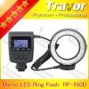 New hot model of RF-550 Series macro led ring flash light for panasonic