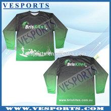 Custom Athletic T Shirts Sublimated Sports Wear