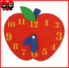 Cartoon digital eva alarm clock for Kid Toy/educational toys