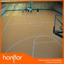 Indoor basketball PVC floor
