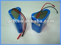 Rechargeable Cylindrical Lithium 7.2V 4000mAh battery pack