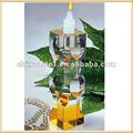 barato por atacado do casamento de cristal castiçal para a decoração do partido