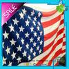100% cotton USA flag velour reactive printed beach towel