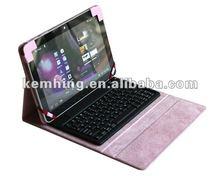 Wireless Bluetooth keyboard Case for Samsung P7500/P7510