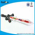 espaço plástico brinquedo do miúdo venda espada com luz e som