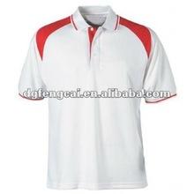 Dri fit polyester custom plain sport polo t shirt for men
