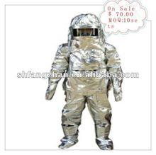 Heat Radiation Resistance Fireman Protective Suit