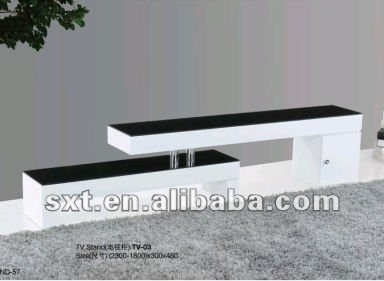 bazhou design moderno bianco lucido in legno porta tv lcd foto ...