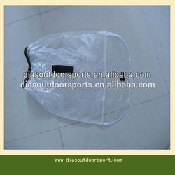 waterproof half clear golf bag rain cover