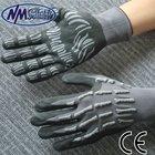 NMSAFETY 15 gauge impact and anti-collision nitrile micro foam working glove