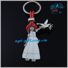 plastic string metal keychains