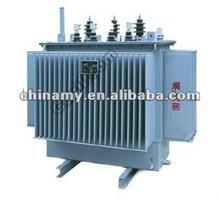 S11-63KVA 11KV/0.4KV oil immersed power distribution transformer
