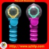 China colorful glowing led magic spinning ball for Christmas holiday