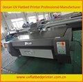 wood plastic composite digital flatbed máquina de impressão