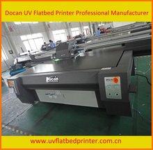 Wood plastic composite digital flatbed printing machine