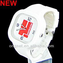 Newest 5ATM Waterproof TOP Quality Watch Custom Jelly watch Silicon Watch reloj