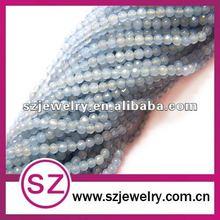 Cutting agate natural gemstone bead wholesale