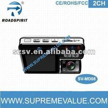 HD G-sensor GPS dual camera night vision 1080p hd mini camera spy